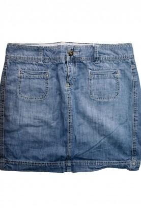 Детска дънкова къса  пола