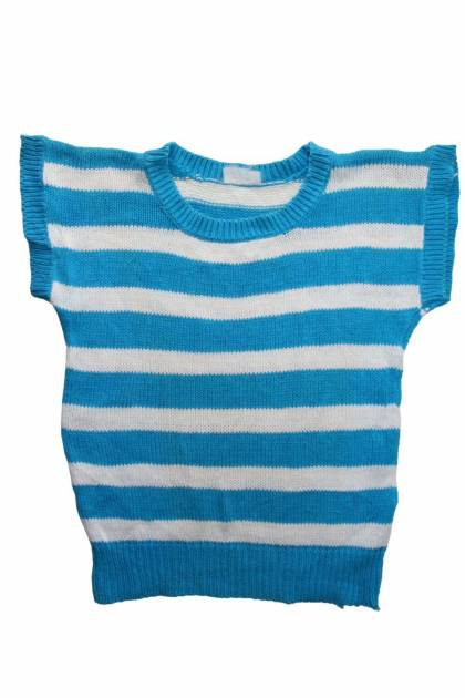 Детски пуловер без ръкави