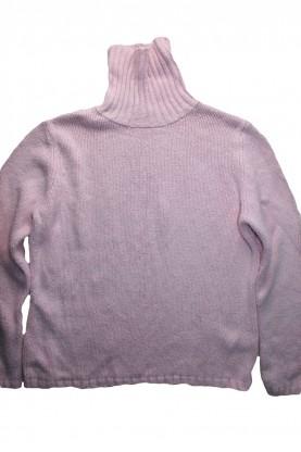 Детски пуловер-поло яка