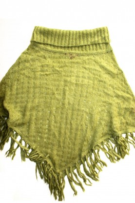 Детско пончо, плетиво