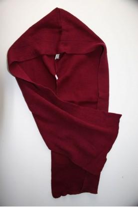 Детски шал със шапка