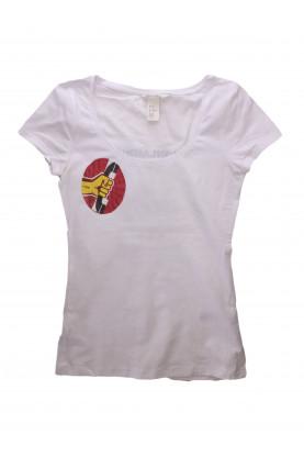 Блуза с къс ръкав H&M H&M