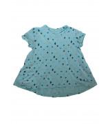 Блуза с къс ръкав Cat & Jack