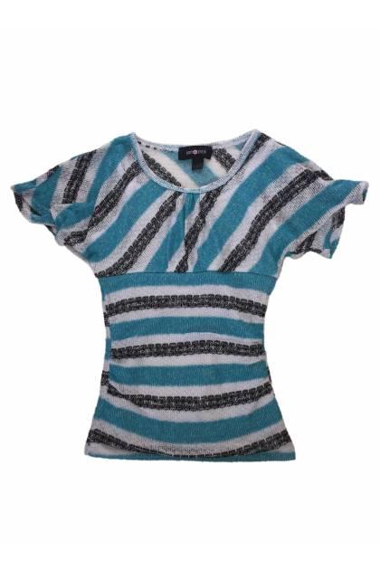 Блуза с къс ръкав Amy Byer