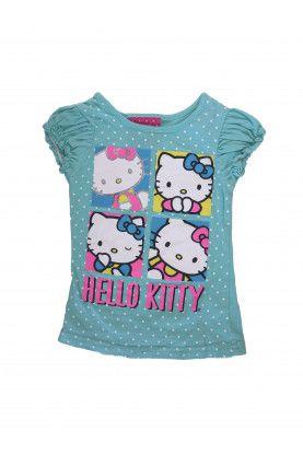 Блуза с къс ръкав Hello Kitty