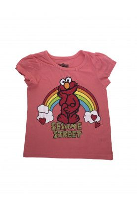 Блуза с къс ръкав Sesame Street