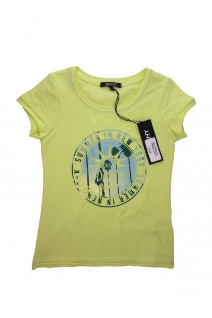 Блуза с къс ръкав DKNY