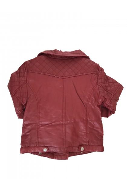 Кожено яке Zara Kids
