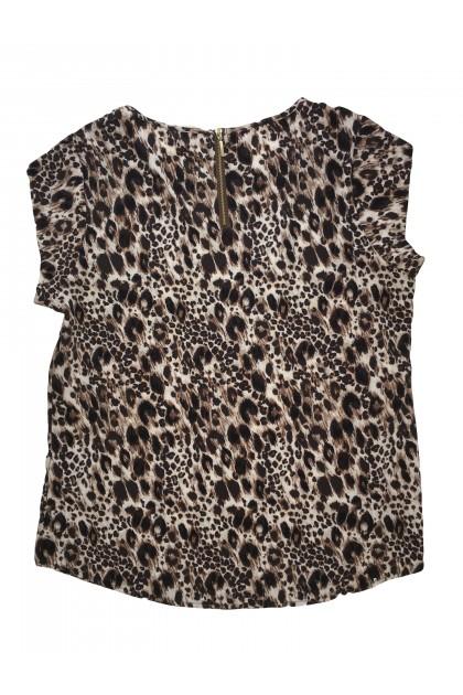 Блуза с къс ръкав Chico's