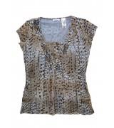 Блуза с къс ръкав Liz&Co.