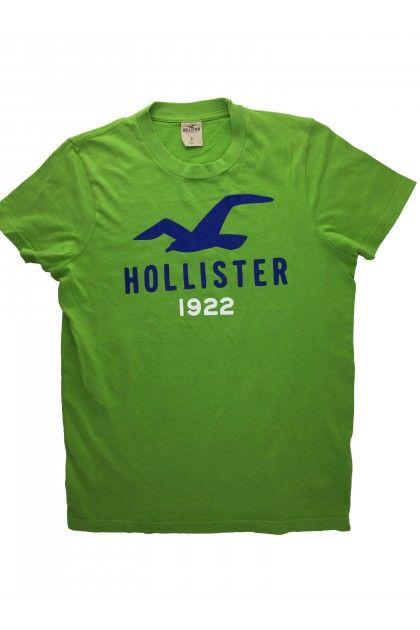Блуза с къс ръкав Hollister
