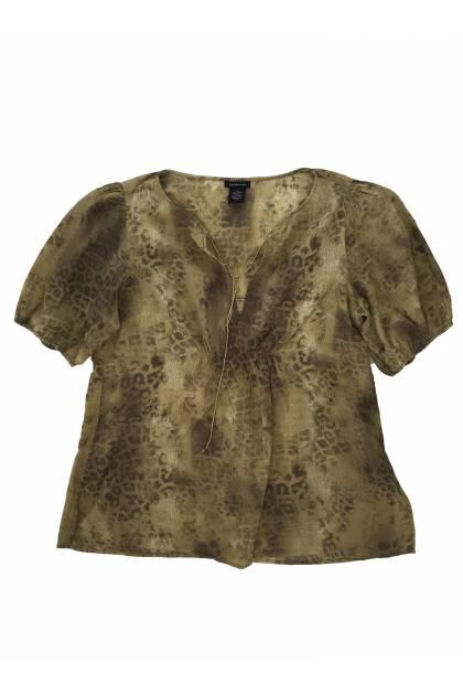 Блуза с къс ръкав Calvin Klein