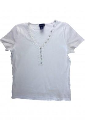 Блуза с къс ръкав Rafaella