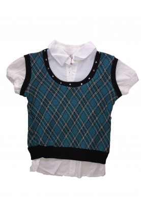 Блуза с къс ръкав Beautees