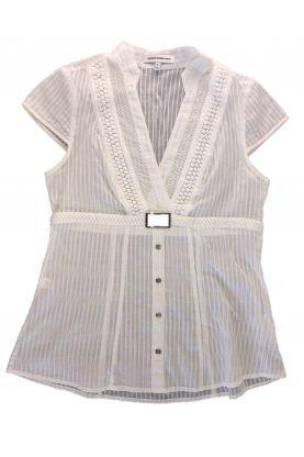 Блуза с къс ръкав Express