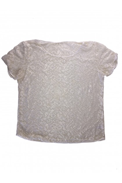 Блуза с къс ръкав American Apparel