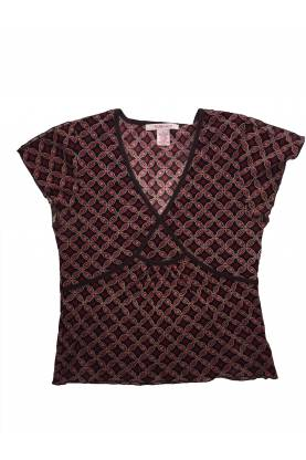 Short Sleeve Blouse Nine West