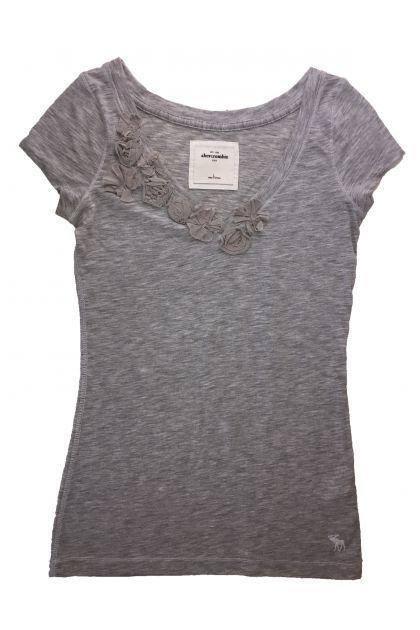 Блуза с къс ръкав Abercrombie & Fitch