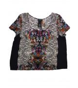 Блуза с къс ръкав Metaphor
